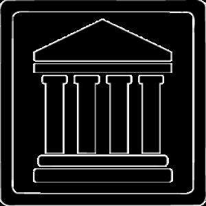 Gerichtssymbol - Gerichtsgebäude