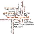 Bild: allgemeines Verwaltungsrecht in Stichworten