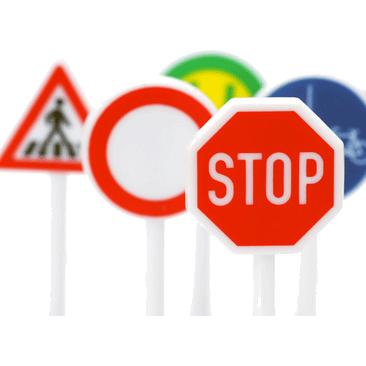 Straßenverkehrsschilder